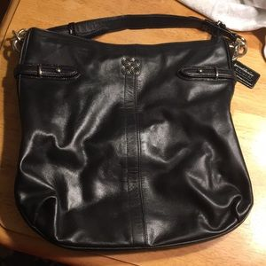 PRICE NEGOTIABLE Coach Collette Leather Bag Black